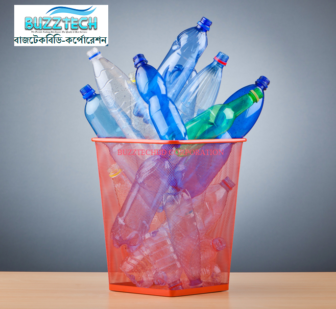 recycling of 100 tons of plastic prevents the extraction of about 1 ton of oil